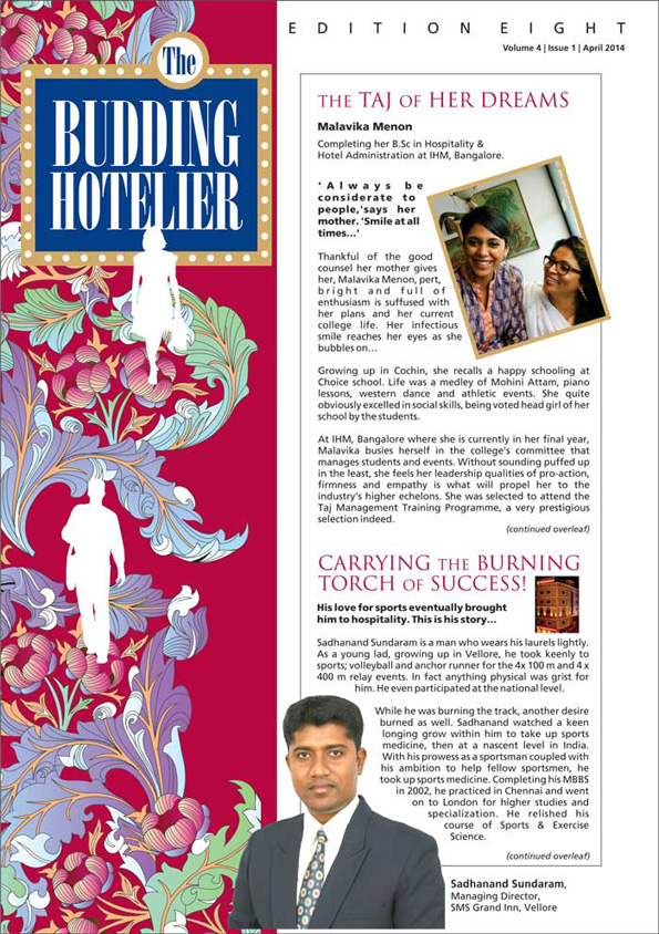 THE BUDDING HOTELIER